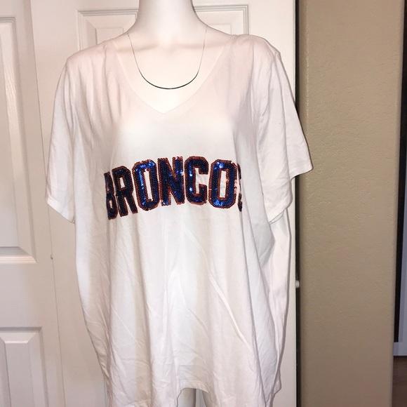 Lane Bryant NFL Denver Broncos T-shirt – sz 26 28 0bc2ad471